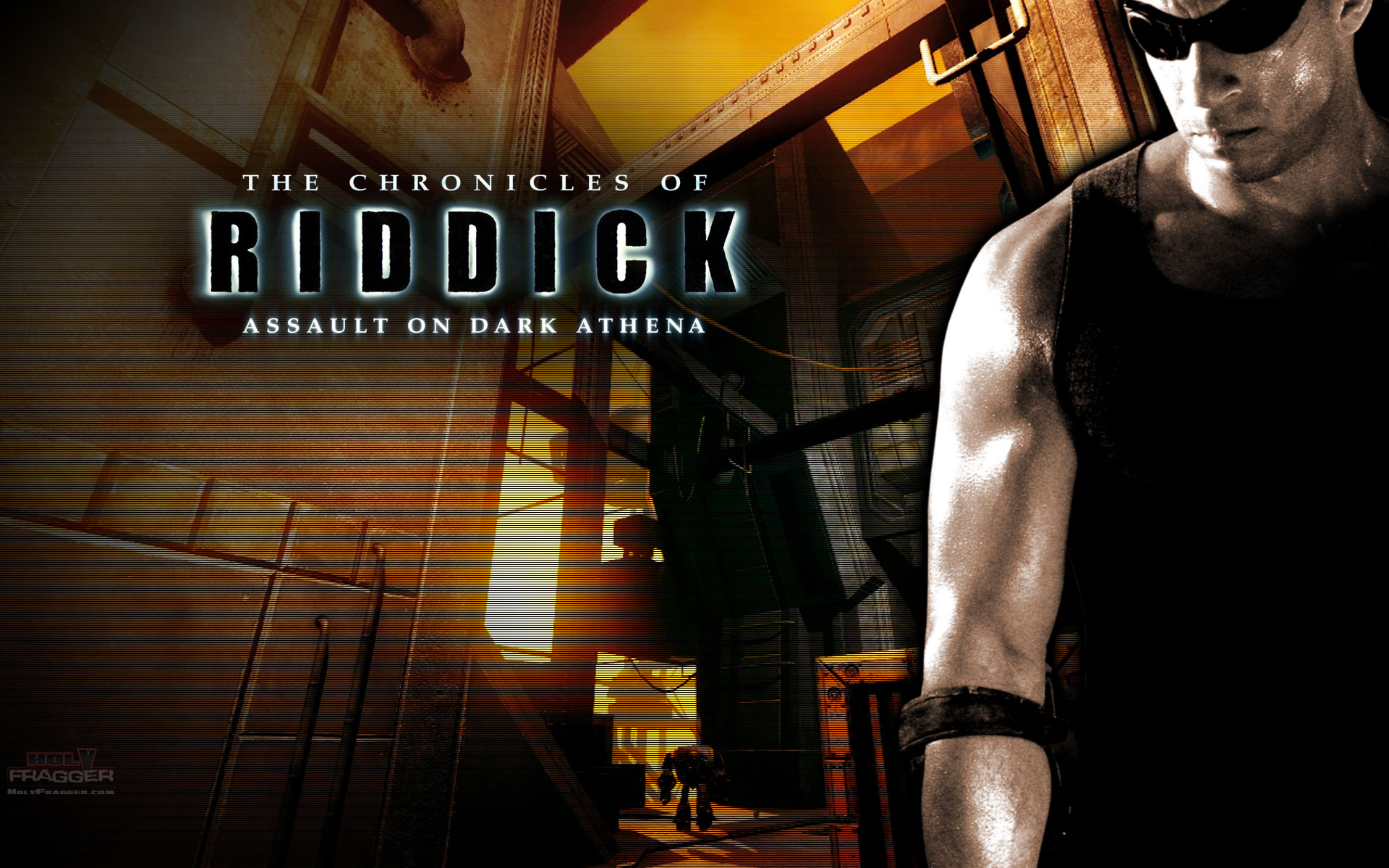 Chronicles Of Riddick Video Games Wallpaper 25466068
