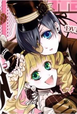 Ciel and Elizabeth