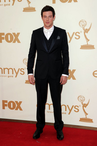 Cory at the Emmy Awards 2011
