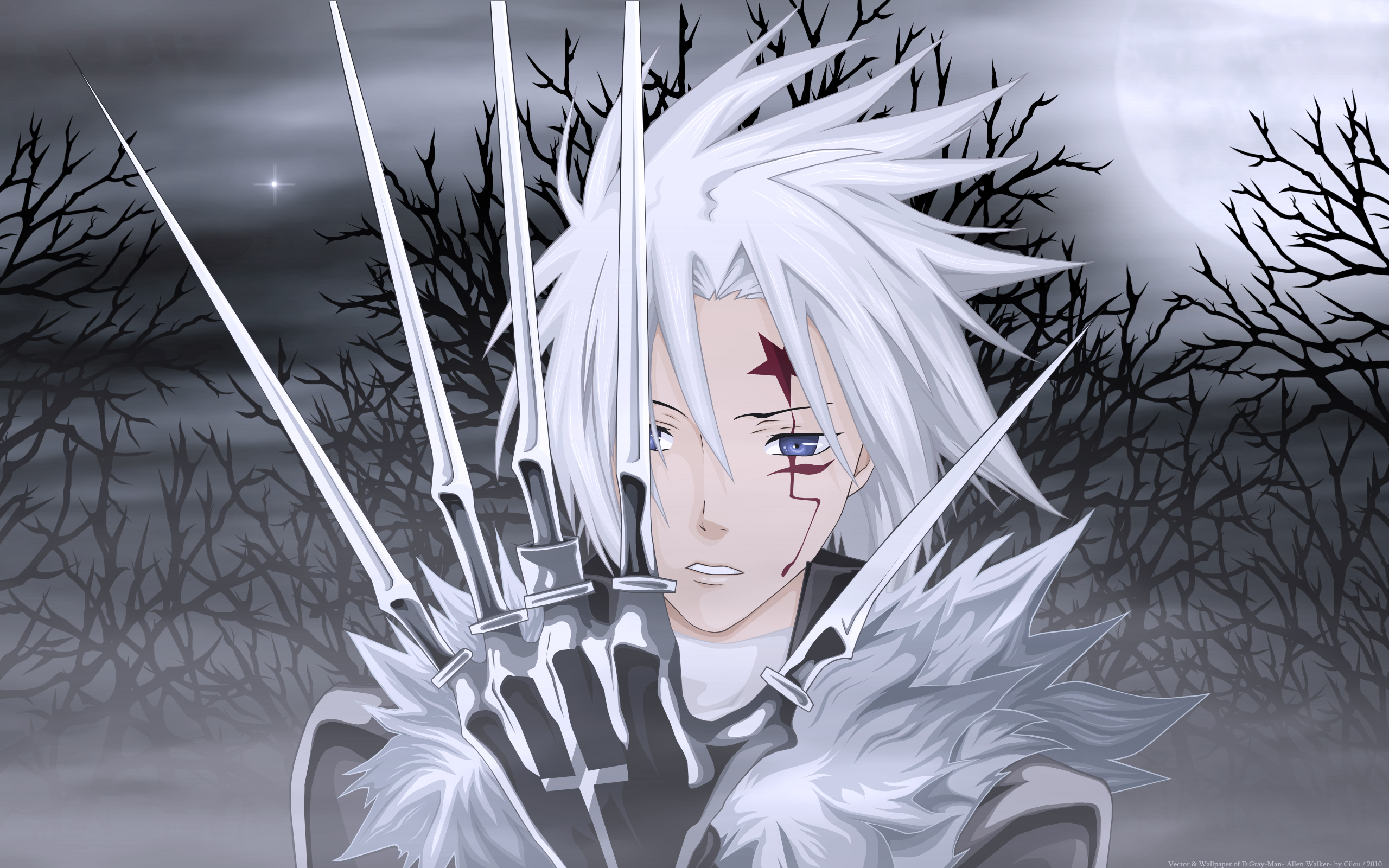 D gray man d gray man wallpaper 25475053 fanpop - D gray man images ...