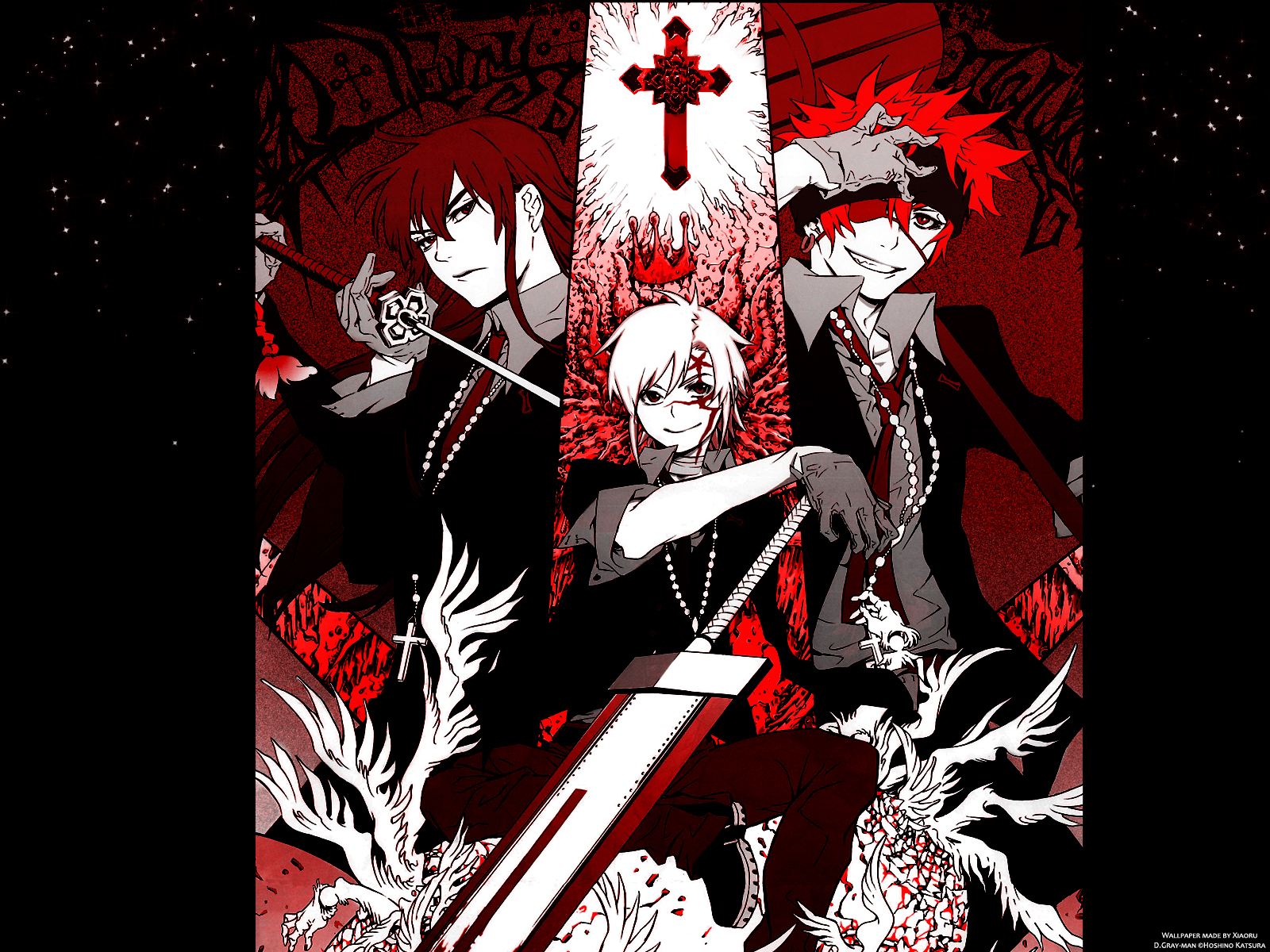 D gray man d gray man wallpaper 25478186 fanpop - D gray man images ...