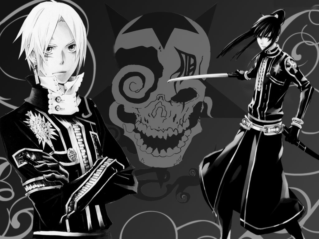 D gray man d gray man wallpaper 25478356 fanpop - D gray man images ...