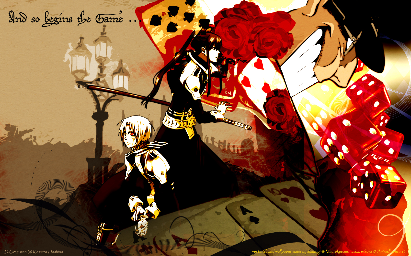 D gray man d gray man wallpaper 25484118 fanpop - D gray man images ...