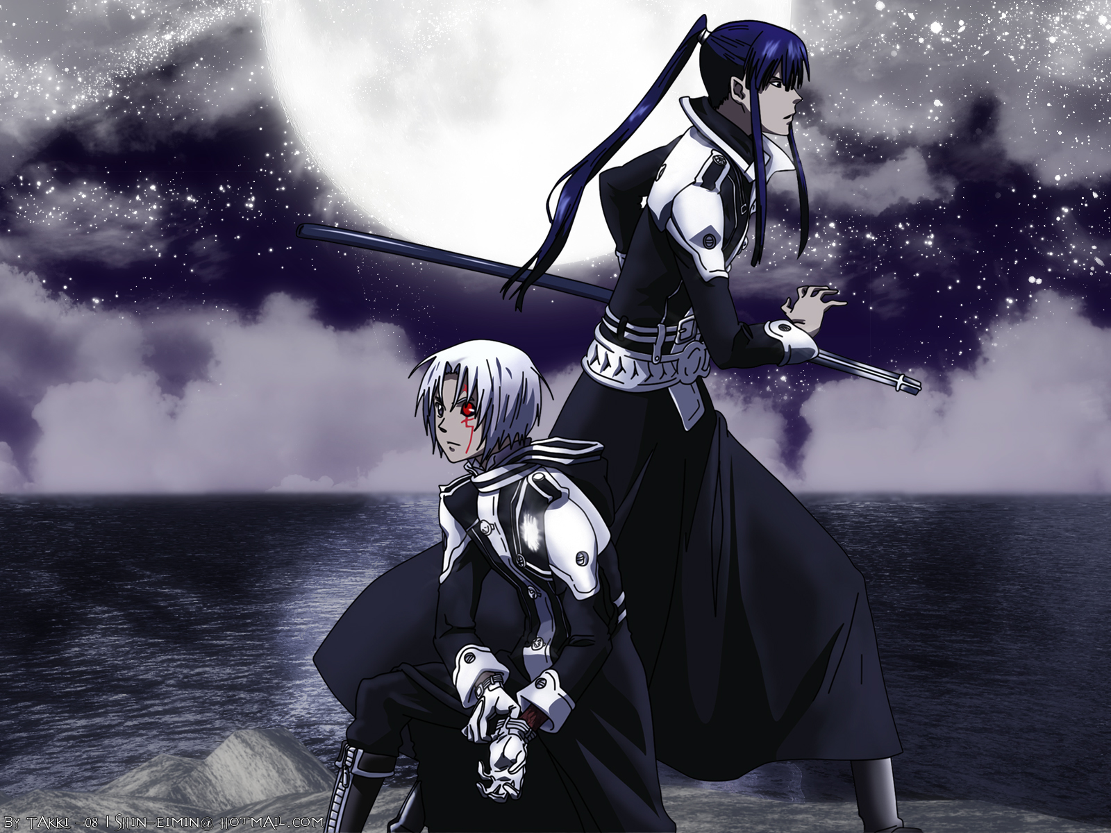 D gray man d gray man wallpaper 25484191 fanpop - D gray man images ...