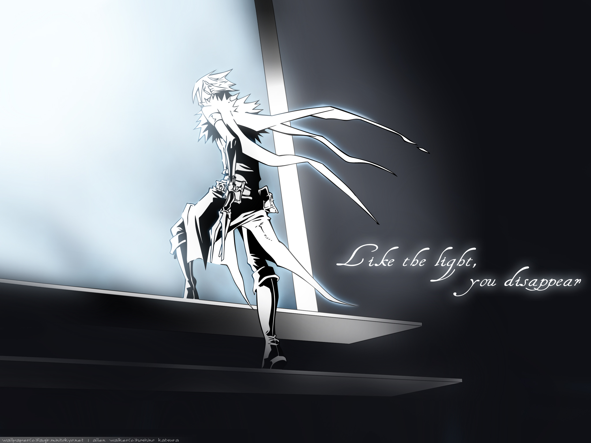 D gray man d gray man wallpaper 25484306 fanpop - D gray man images ...