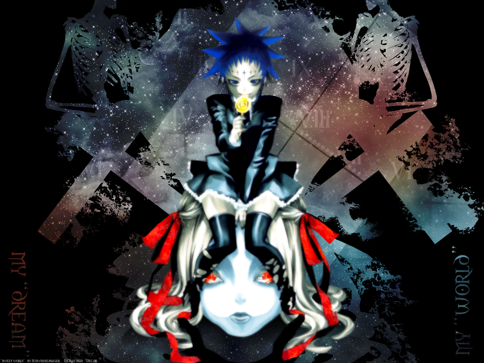 D gray man d gray man wallpaper 25484483 fanpop - D gray man images ...