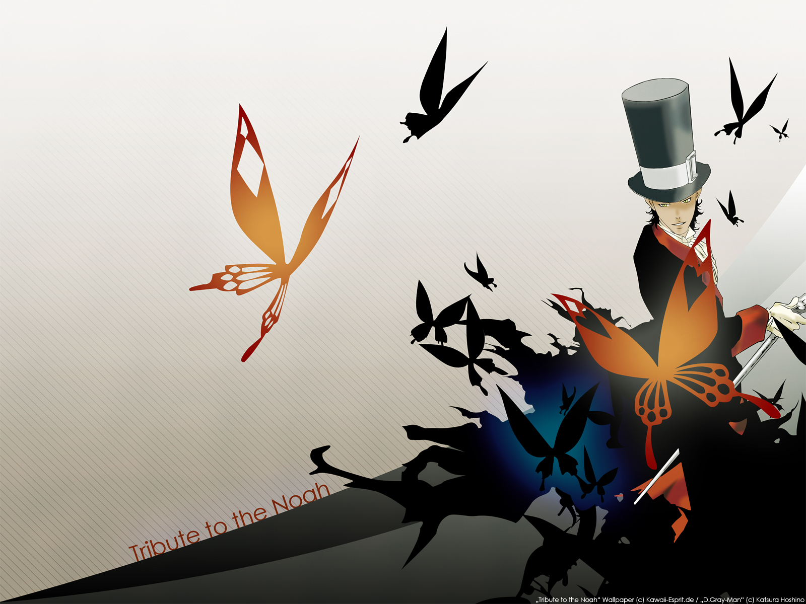 D gray man d gray man wallpaper 25484496 fanpop - D gray man images ...