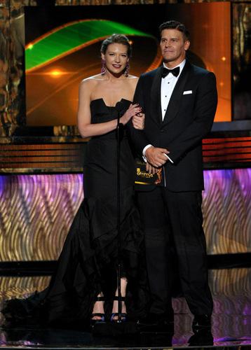 DB and Anna Torv at Emmys