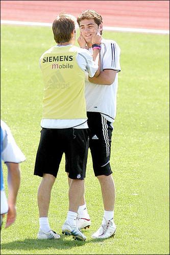David and Iker Casillas