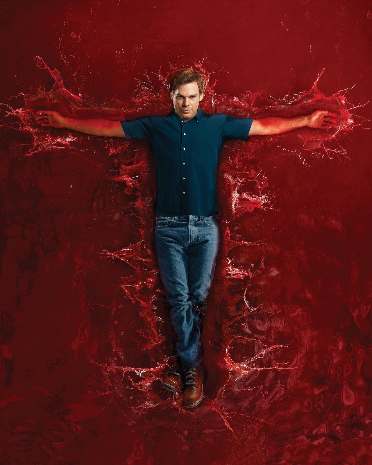dexter blood splatter poster - photo #18