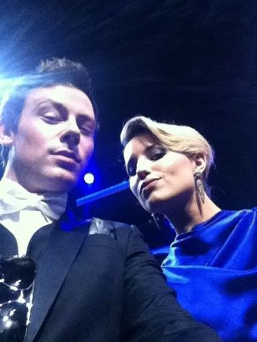 Di and Cory at Emmy