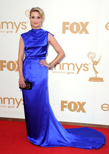 Dianna at the Emmy Awards