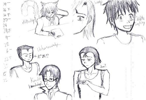 Doodles in Class