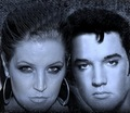 Elvis & Lisa - elvis-aaron-presley-and-lisa-marie-presley photo