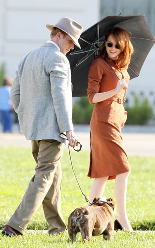 Ryan On the Set of Gangster Squad (September 20)