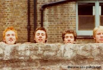 First Sex Pistols foto