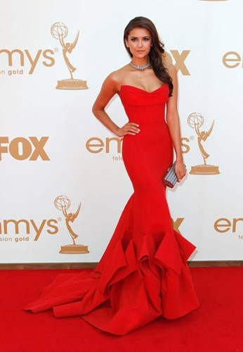 First pictures of Nina at the 63rd Emmy Awards