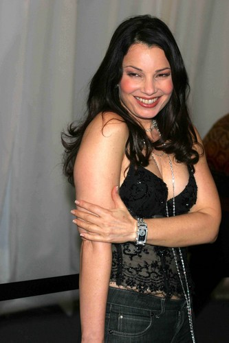 Fran Drescher Hintergrund possibly containing bare legs, attractiveness, hot pants, and hot pants, hot-pants titled Fran