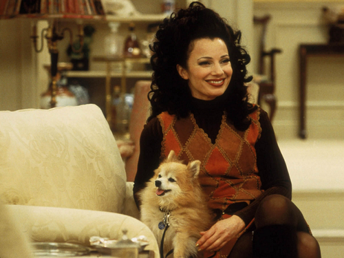The Nanny wallpaper possibly with a pomeranian titled Fran