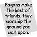 Funny and true XD - paganism icon