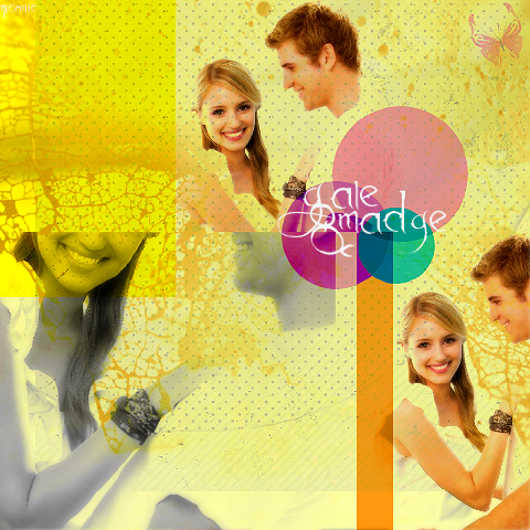 The Hunger Games wallpaper titled Gale & Madge