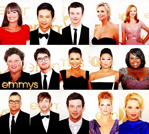 glee/グリー Cast Emmys 2011