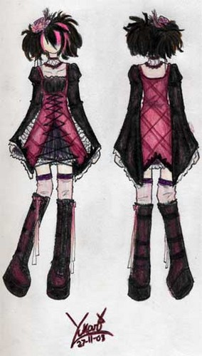 Gothic Lolita - lolita-fashion Fan Art