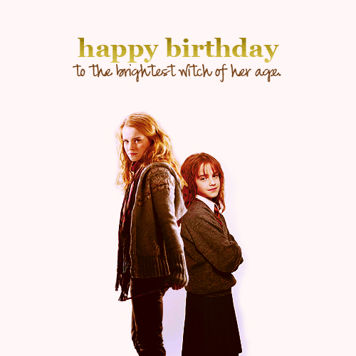 Happy Birthday Hermione!♥