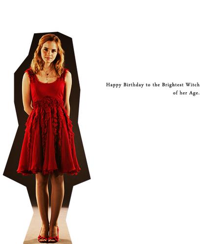Happy Birthday Hermione!♥