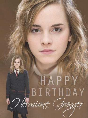 Happy Birthday Hermione♥