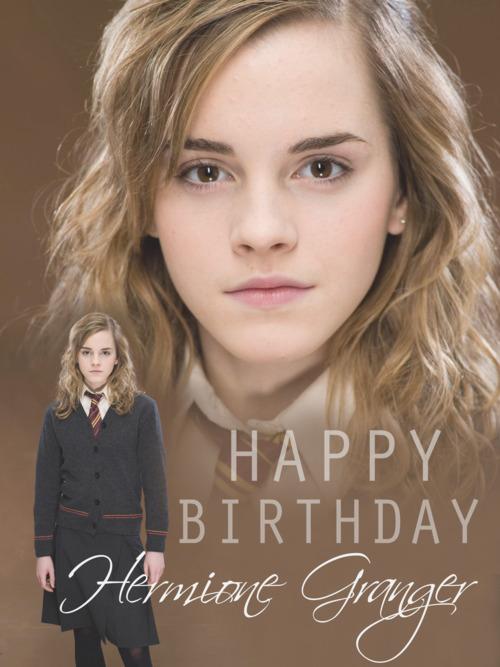happy birthday hermione by - photo #10