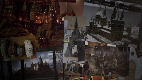Harry Potter wallpaper probably containing an abattoir, a street, and a brasserie entitled Harry Potter Page to Screen
