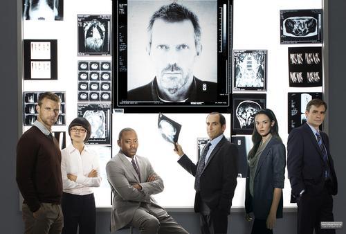 House - Season 8 - Cast Promotional Group foto *HQ*