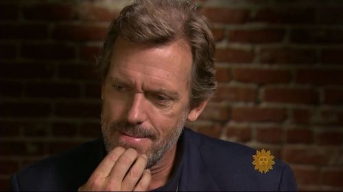 Hugh Laurie CBS News Sunday Morning set 2011