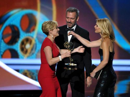Hugh Laurie,Claire Danes and Kate Winslet-Emmy Awards 2011