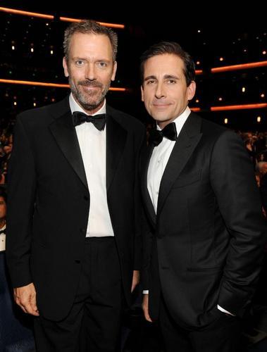 Hugh laurie and Steve Carrel Emmy Awards 2011