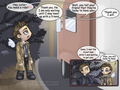 I'll just wait here then - supernatural-quotes photo
