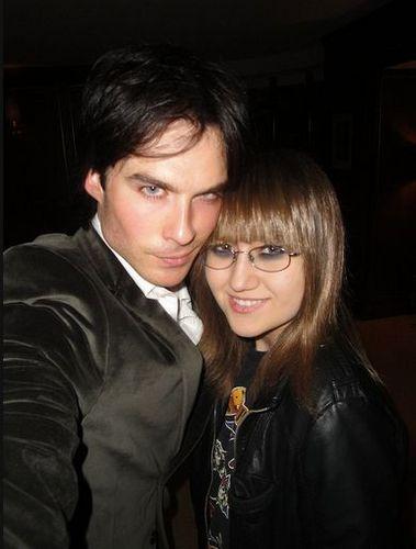 Ian/Nina @ Emmys 2011