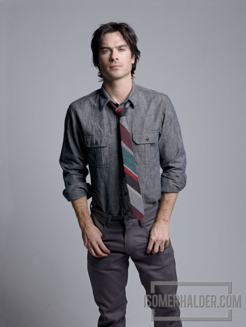 Ian's photoshoot for Men's Health 2011 Denim Guide - ian-somerhalder photo