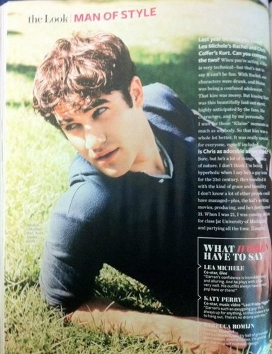 Instyle October issue