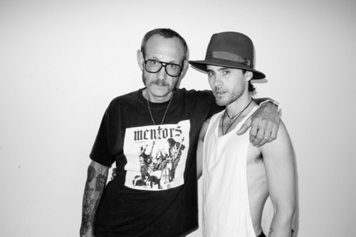 Jared Leto sejak Terry Richardson