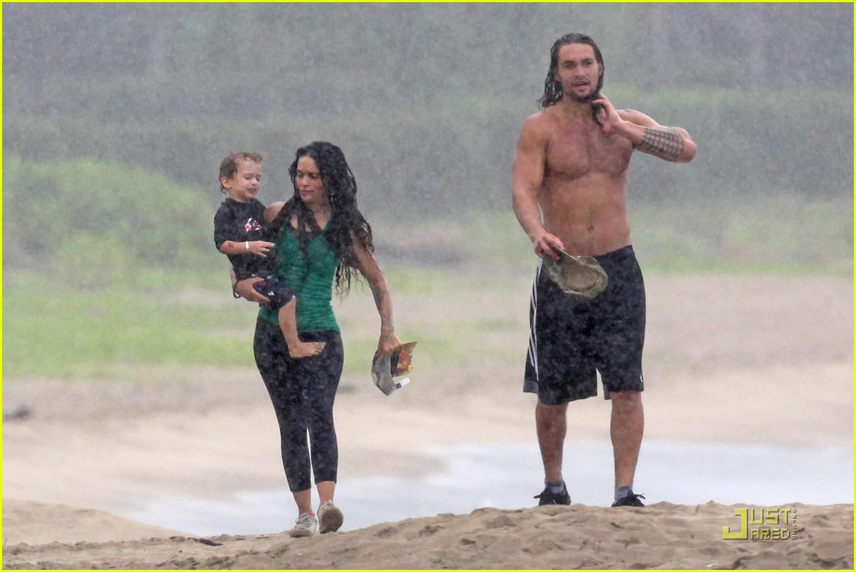 Jason Momoa: Hawaiian Holiday with Lisa Bonet!