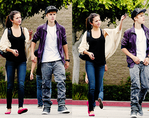 Justin Bieber and Selena Gomez wallpaper called Jelena NEW photos