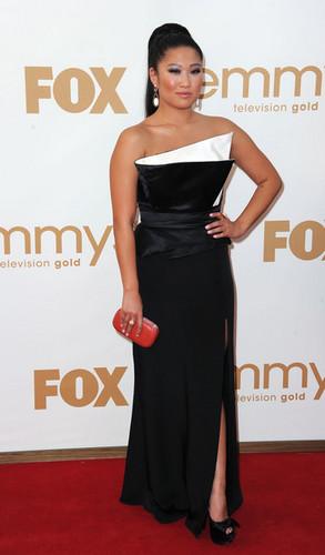 Jenna at the Emmy Awards 2011