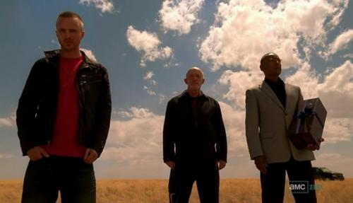 Jesse, Mike and Gus