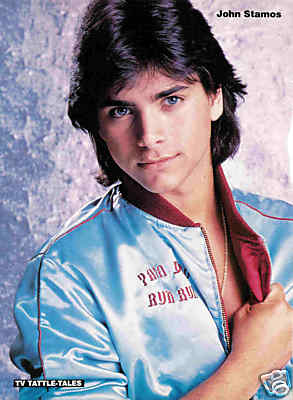 John Stamos fond d'écran probably with a portrait titled John