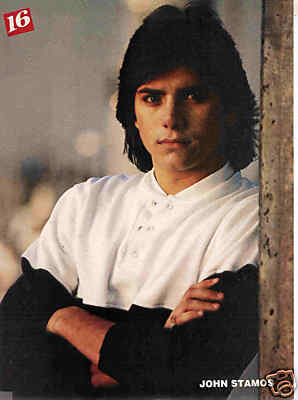 John Stamos fond d'écran possibly containing a sign, a holding cell, and a portrait called John