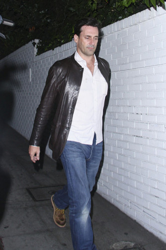 Jon Hamm @ Chateau Marmont in West Hollywood - jon-hamm Photo