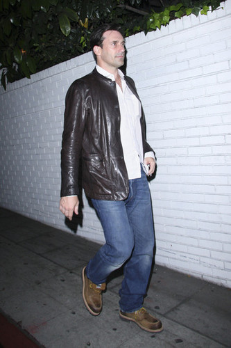 Jon Hamm @ chateau, schloss Marmont in West Hollywood