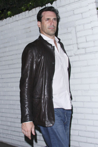 Jon Hamm images Jon Hamm @ Chateau Marmont in West Hollywood wallpaper and background photos